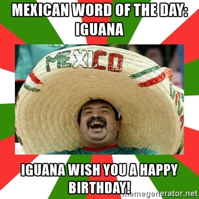 Funny Mexican Birthday Pictures Pic