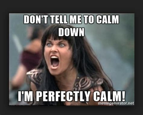 Calm Down Meme