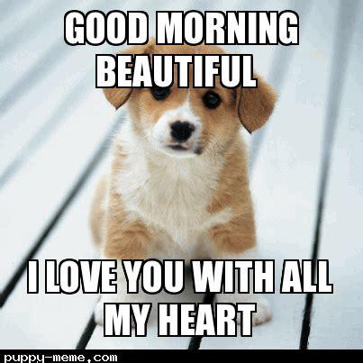 Good Morning Sweetheart Meme