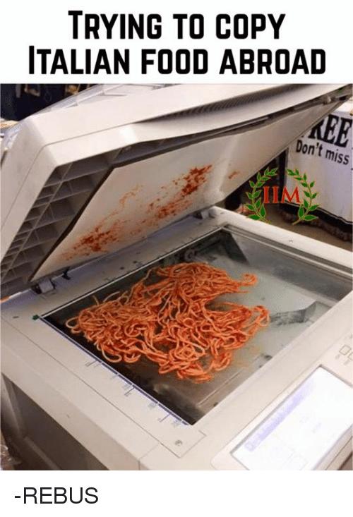 Italian Food Memes