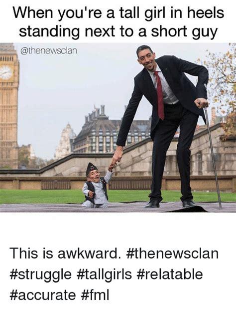 Tall Girl Short Guy Memes