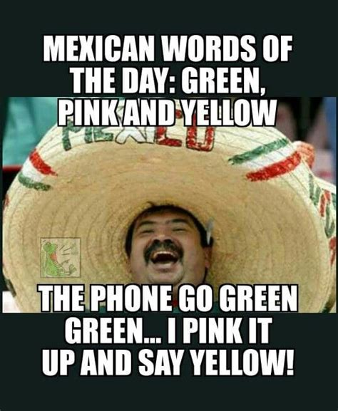 Mexican Word Of The Day Memes