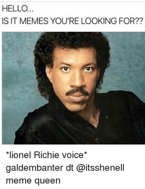 Lionel Richie Hello Memes