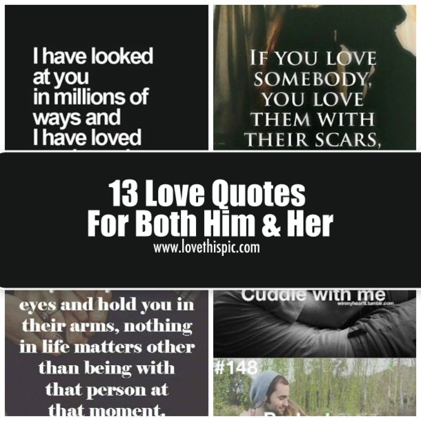 Love quotes for him Memes