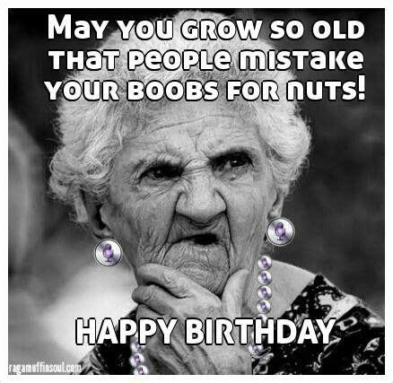 Happy Birthday Old Lady Memes