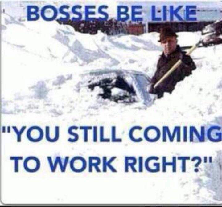 Funny Snowstorm Memes