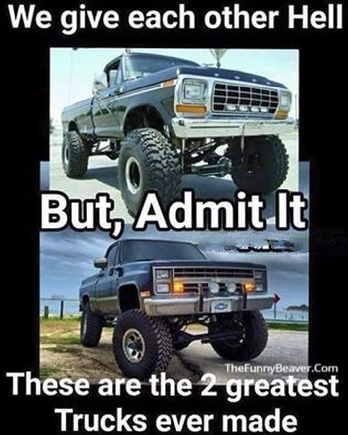 Lifted truck Memes