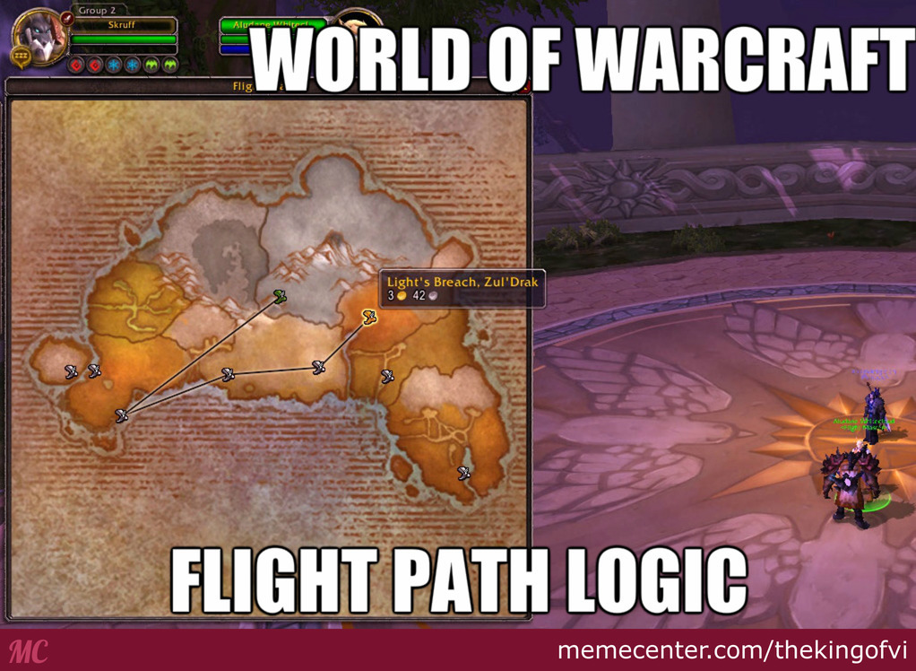 World Of Warcraft Memes
