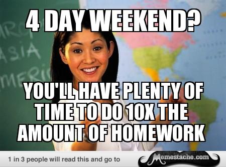Unhelpful Highschool Teacher Memes