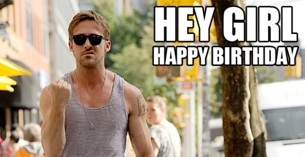 Ryan Gosling Birthday Memes