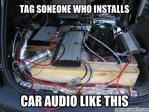 Car Audio Memes