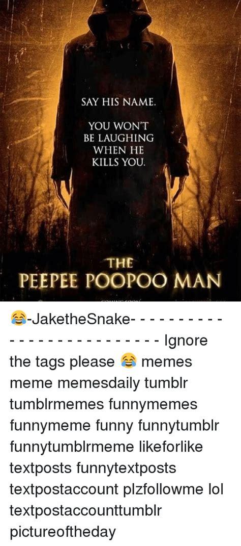 The pee pee poo poo man Memes