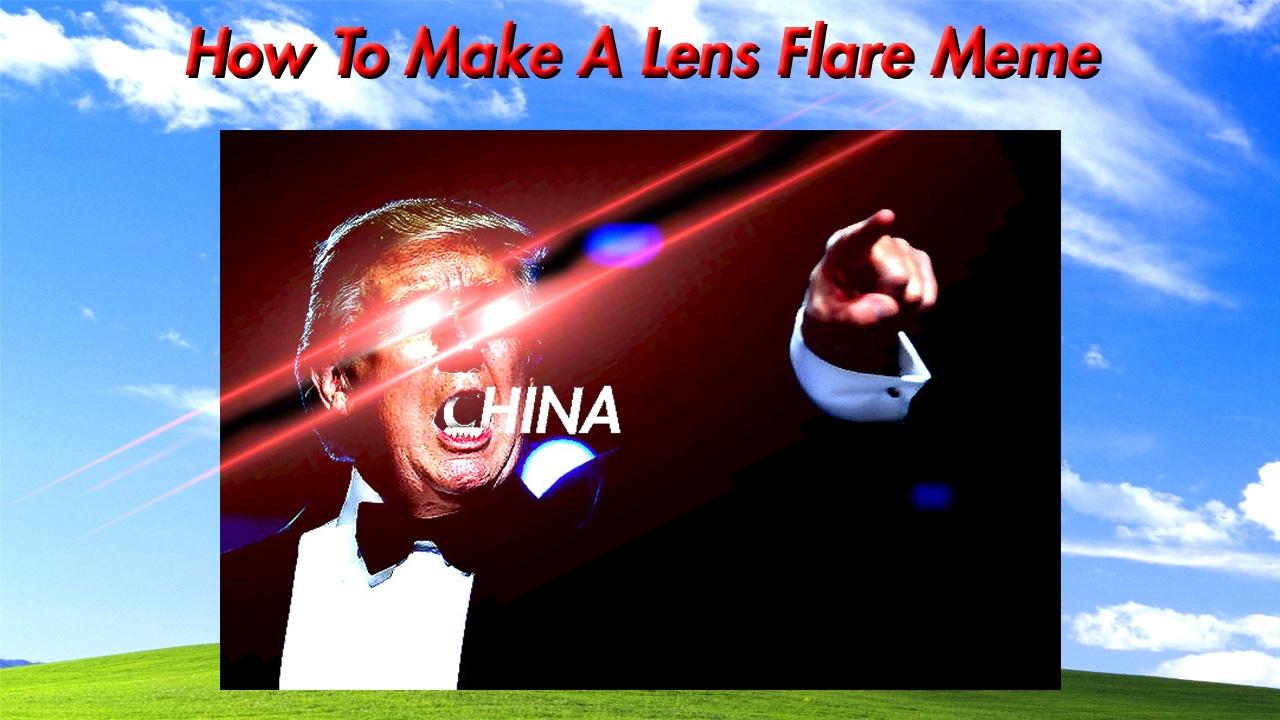 Lense flare memes