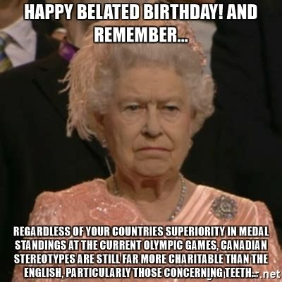 English Happy Birthday Memes
