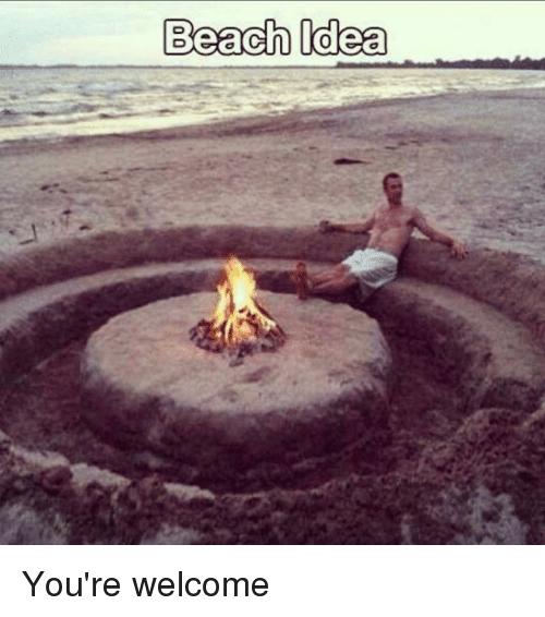 Funny Beach Memes
