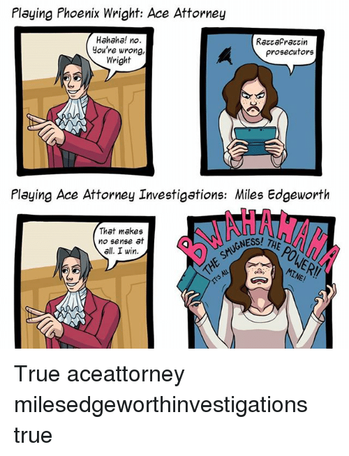 funny ace attorney memes