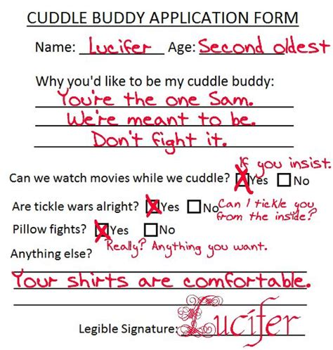Application snuggle buddy Find A