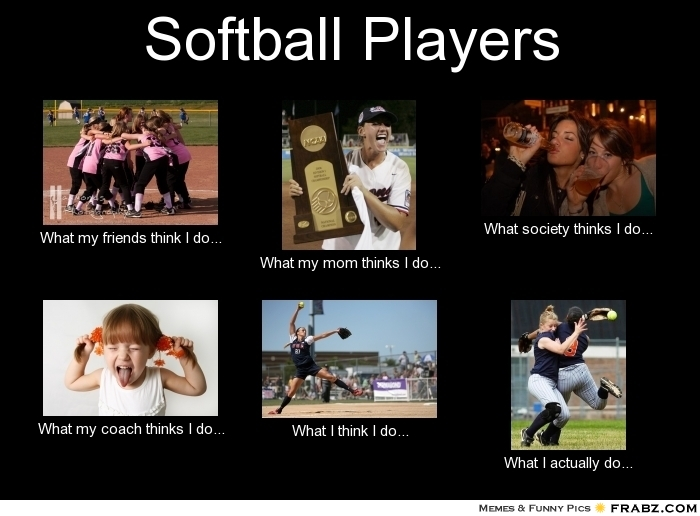 Funny Fastpitch Softball Memes