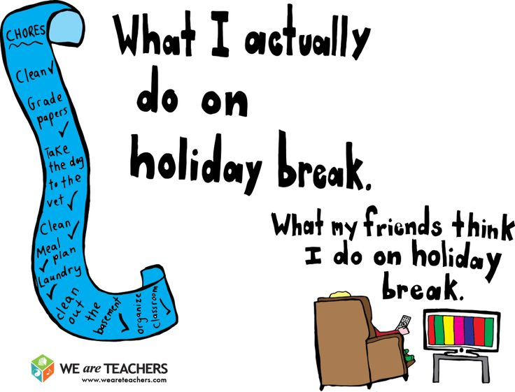 Teacher Holiday Memes
