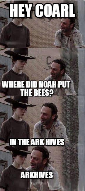 The Walking Dead Carl Memes