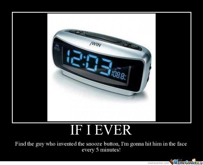 Alarm clock Memes