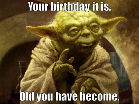 yoda happy birthday memes