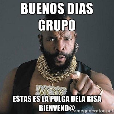 Buenos Dias Grupo Memes