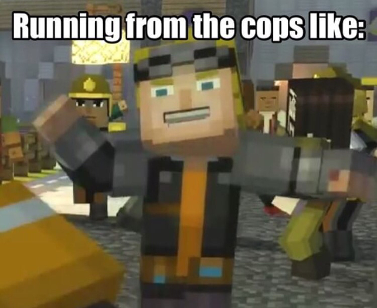 Minecraft Story Mode Memes