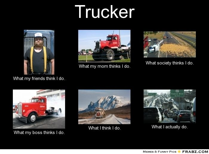 Funny Truck Driver Memes