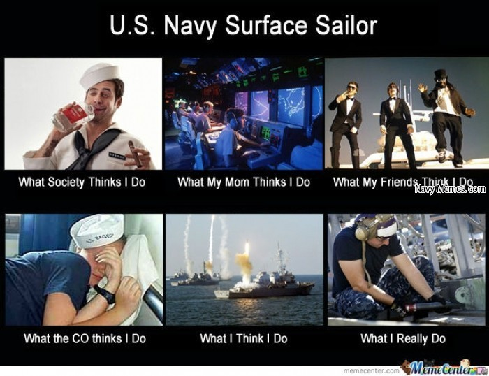 Why does the navy suck