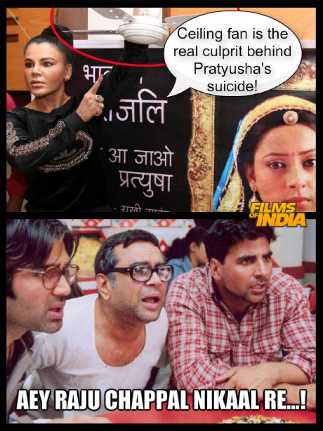 Bollywood movie Memes
