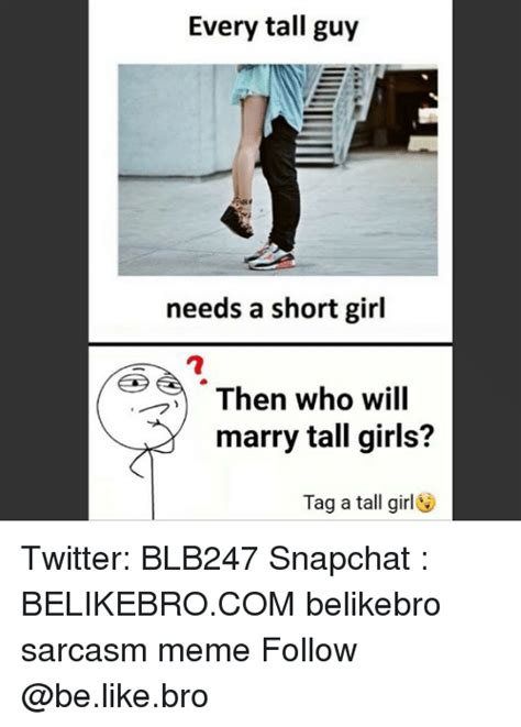 Tall Girl Short Guy Memes