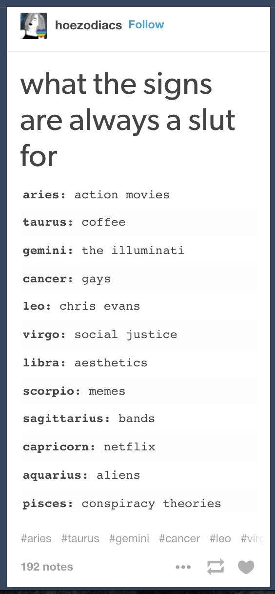 Zodiac Signs Memes