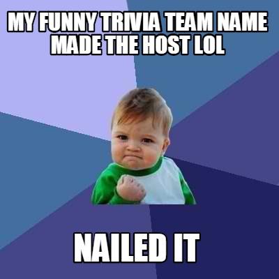 Funny trivia Memes