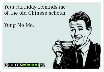 Rotten Birthday Memes