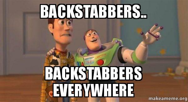 Backstabber Memes