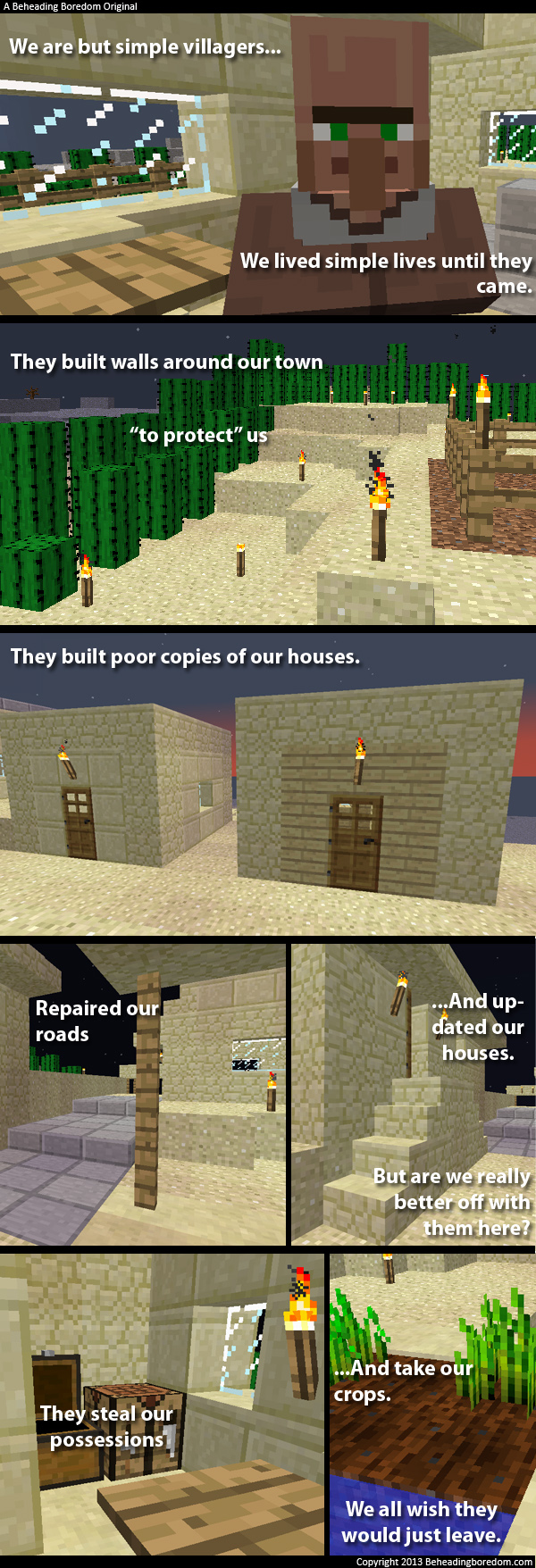 Funny Villager Memes