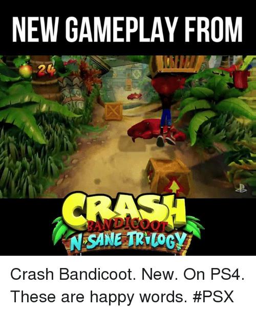Crash bandicoot Memes