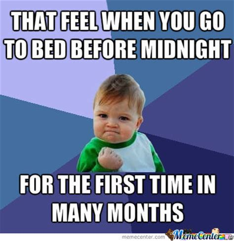 Go To Bed Memes
