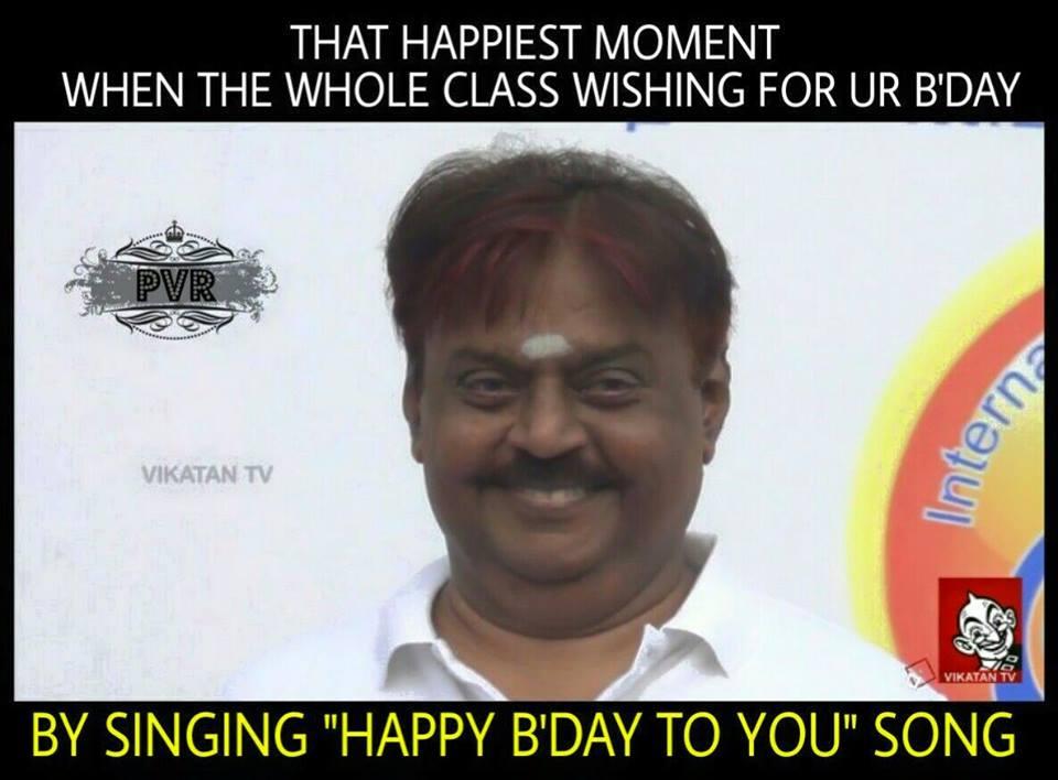 Vijayakanth Memes