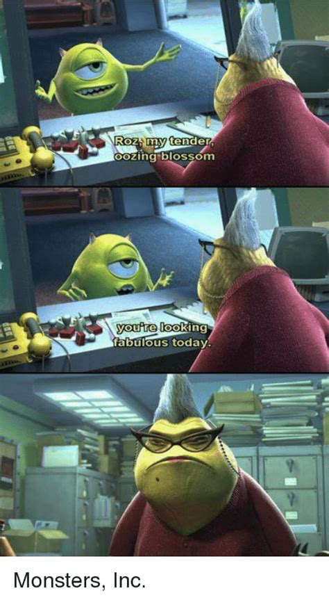 Roz Monsters Inc Memes