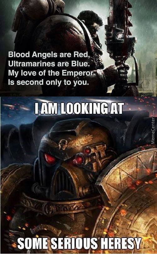 Warhammer 40k Memes