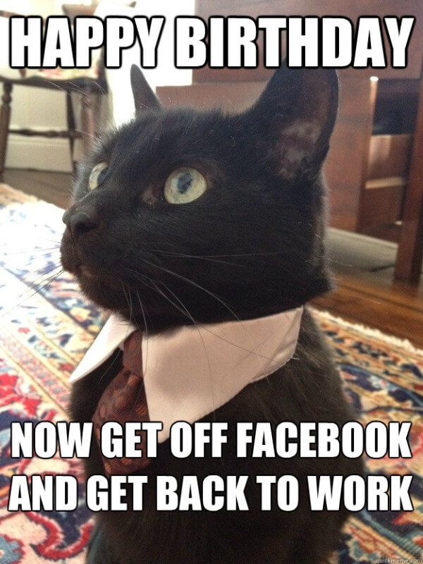 Funny Facebook Birthday Memes