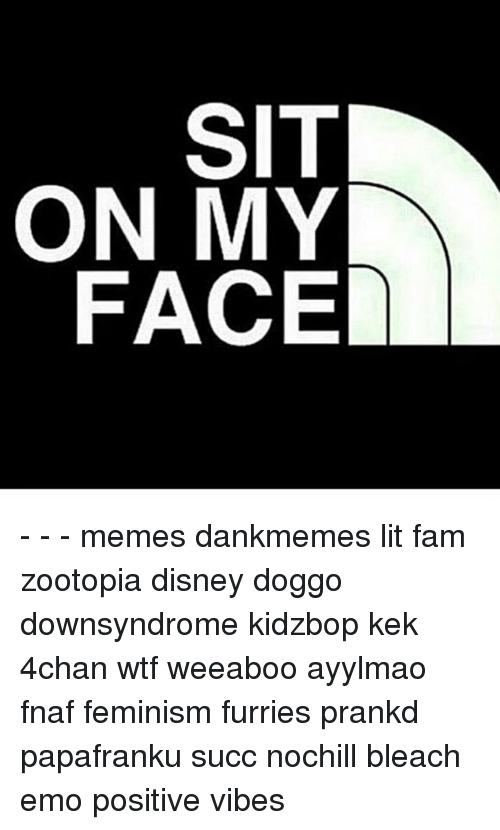 Sit on my face pics