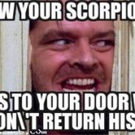 Scorpio Birthday Memes