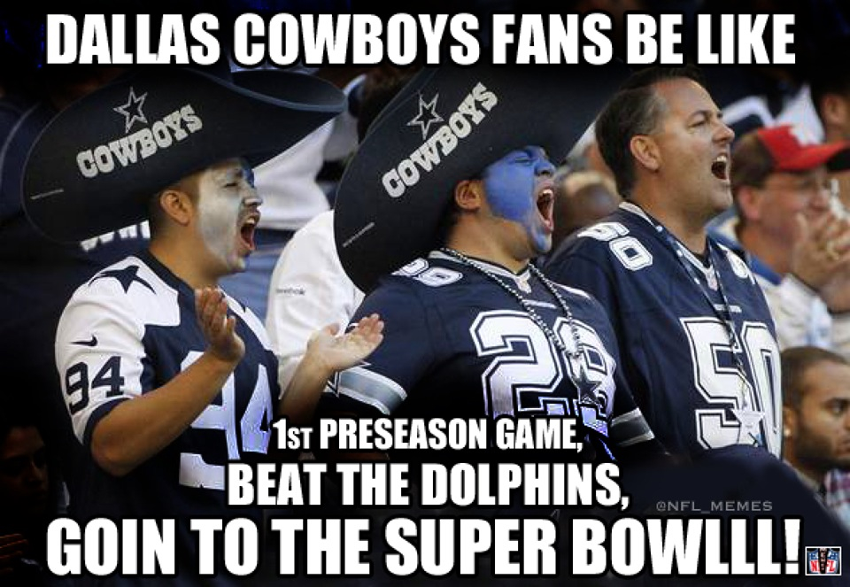 Dallas Cowboys Positive Memes