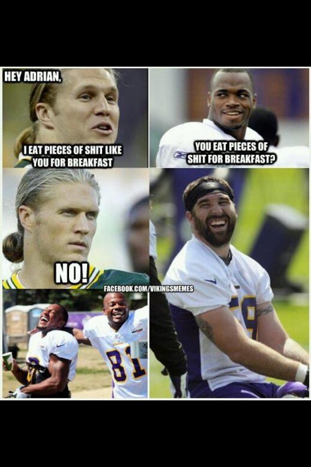 Vikings Packers Memes