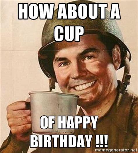 Military Birthday Memes