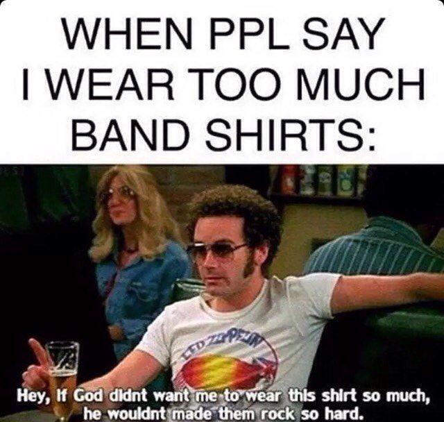 Rock Band Memes