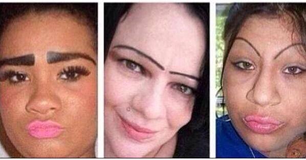 Drawn On Eyebrow Memes